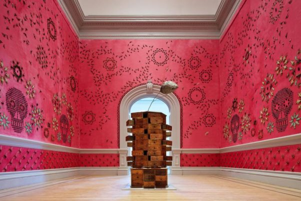 "The ""Wonder"" exhibit at the Renwick Museum, including Jennifer Angus' ""In the Midnight Garden"" (pictured), closes this weekend. (Photo: Renwick Gallery)"