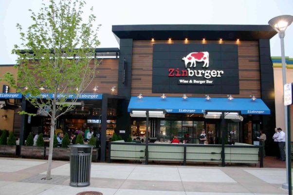Zinburger opened in the Springfield Town Center on May 3. (Photo: Mark Heckathorn/DC on Heels)