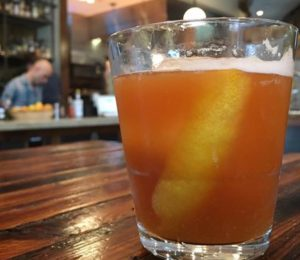 One featured drink during Royal Knights will be the Daylight Come and Me Wan Go Home with Azuñia tequila reposado, caramelized banana, walnut liqueur and mole bitters. (Photo; The Royal/Facebook)