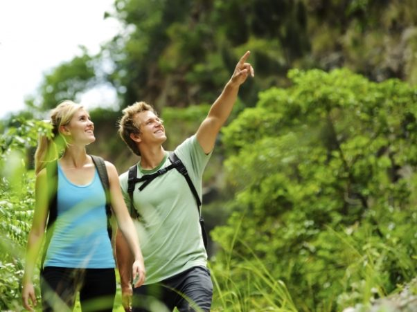 Take your date outdoors to get down and dirty this Memorial Day. (Photo: Shutterstock)