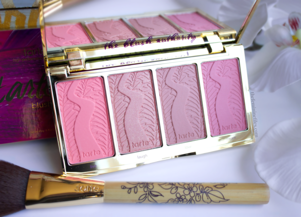 Grab your mom some new makeup like this limited edition blush palette from Tarte. (Photo:: thefemininefiles.com)