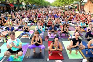 Cathedral Commons' Spring Fest will have an open air workout at noon. (Photo: Art Soiree)