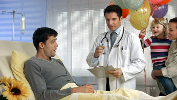 Patients with a spouse or family are more likely to stick to treatment. (Photo: Getty Images)