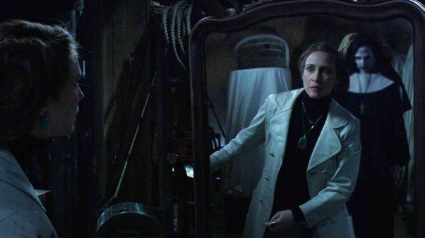 """""""The Conjuring 2""""  topped the box office with $40.40 million last weekend. (Photo: Warner Bros. Pictures)"""