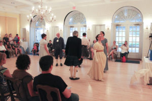 The English Country Dancers perform at Dumbarton House. (Photo: Dupont Kalorama Museum Consortium)