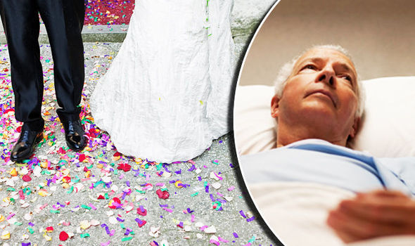 Married people are 14 percent more like to survive a heart attack and 20 percent more like to survive cancer. (Photo: Getty Images)
