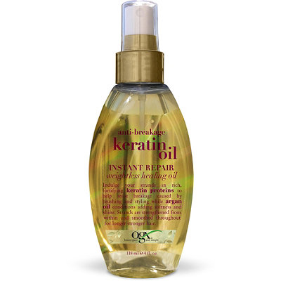 Keratin oil adds a subtle sheen to your hair. (Photo: Ulta)