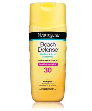 This Neutrogena sunscreen is my favorite for when I want to use a water resistant sunscreen. (Photo: Neutrogena)