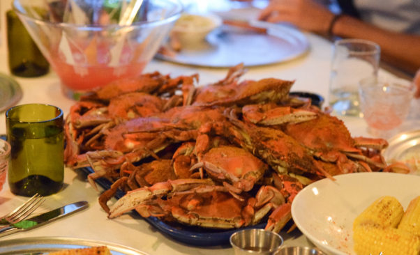 """The Fainting Goat will offer weekly """"picnics"""" served family style. August will feature crabs. (Photo: The Fainting Goat)"""
