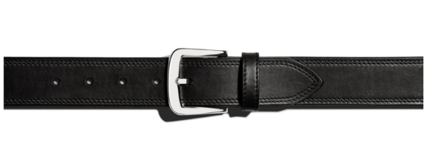The Shinola double-stitch belt is perfect to finish any look. (Photo: Shinola)