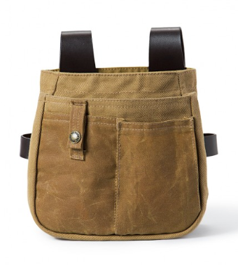 The Filson tool belt pouch has plenty of pockets for organizing items (even a cell phone). (Photo: Filson)