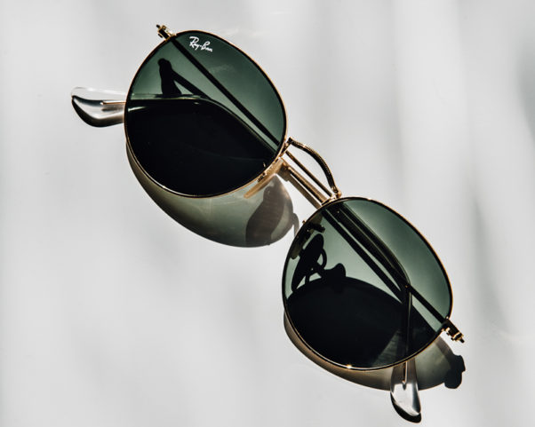 You cannot go wrong with a classic pair of Raybans. (Photo: Chriselle Lim)