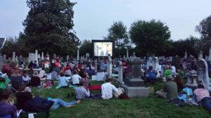 "Congressional Cemetery will screen ""All About Eve"" at 8 p.m. on Friday among the gravestones. (Photo: Congressional Cemetery)"