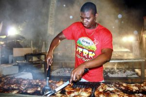 The Grace Jamaican Jerk Festival takes over Pennsylvania Avenue NW from 12th to 14th Streets from noon-9 p.m. Sunday. (Photo: The Grace Jamaican Jerk Festival)