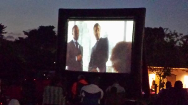 Films at the Stone will screen movies at the MLK Jr. Memorial one Thursday a month. (Photo: Adventures of C.A.B.)
