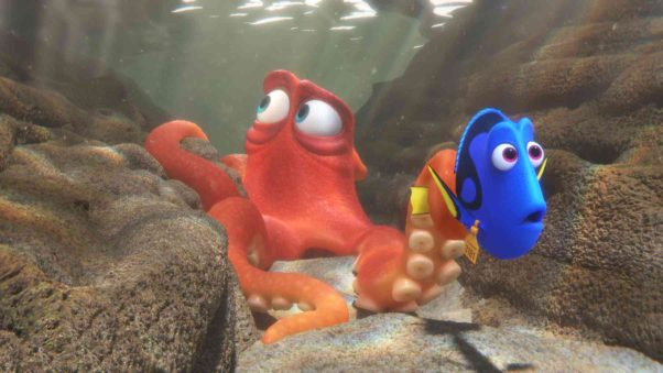 """""""Finding Dory"""" swam away with animated movie records after opening with $135.06 million last weekend. (Photo: Disney•Pixar)"""