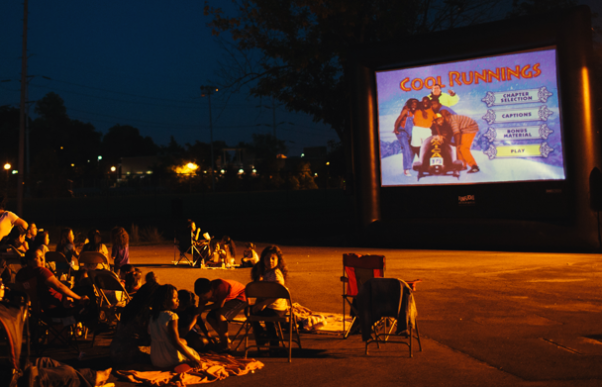 The Four Mile Summer Movie Series will show films the last Friday of the month during the summer. (Photo: Four Mile Summer Movie Series)
