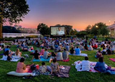 Sunset Cinema will bring movies to Georgetown's Watefront Park on Tuesdays in July and August. (Photo: Sunset Cinema)