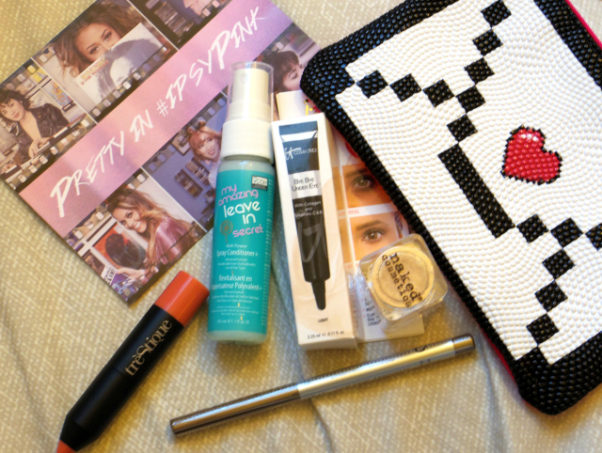 I received a wide range of products in my first bag. (Photo: Allison Lundy/DC on Heels)