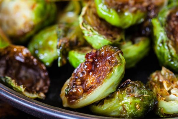 Commissary will host an 8-course vegetarian dinner on Thursday featuring its kung pao Brussels sprouts. (Photo: Commissary/Facebook)