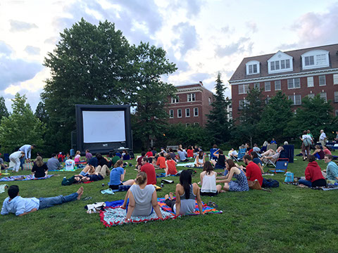 Films in the Field will bring outdoor moviews to Kalorama's Mitchell Park this summer. (Photo: Friends of Mitchell Park)