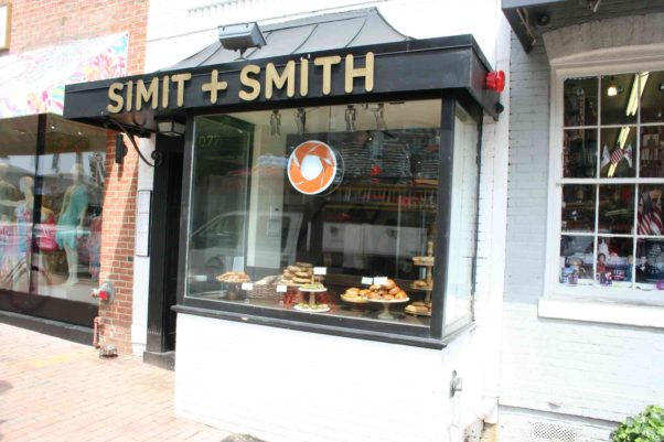 Simit + Smith, a Turkish cafe, opened a block from the center of Georgetown in May. (Photo: Mark Heckathorn/DC on Heels)