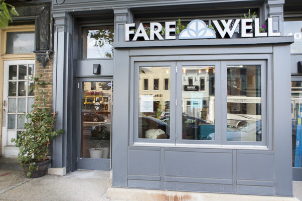 Fare Well, the vegan diner from the owner of Sticky Fingers bakery, opens on H Street Wednesday. (Photo: Fare Well)