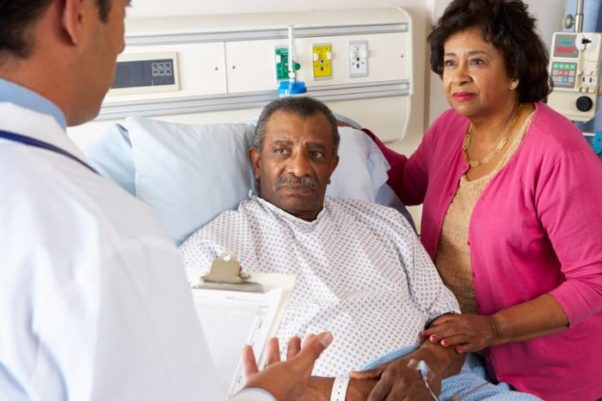 Doctors should consider support after discharge when treating a patient. (Photo: Getty Images)