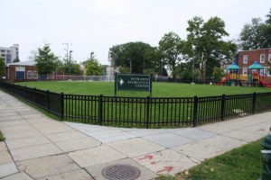 The second Petworth Park Summer Jam on the green of the Petworth Recreation Center is Saturday from 5-9:30 p.m. (Photo: Elvert Barnes)