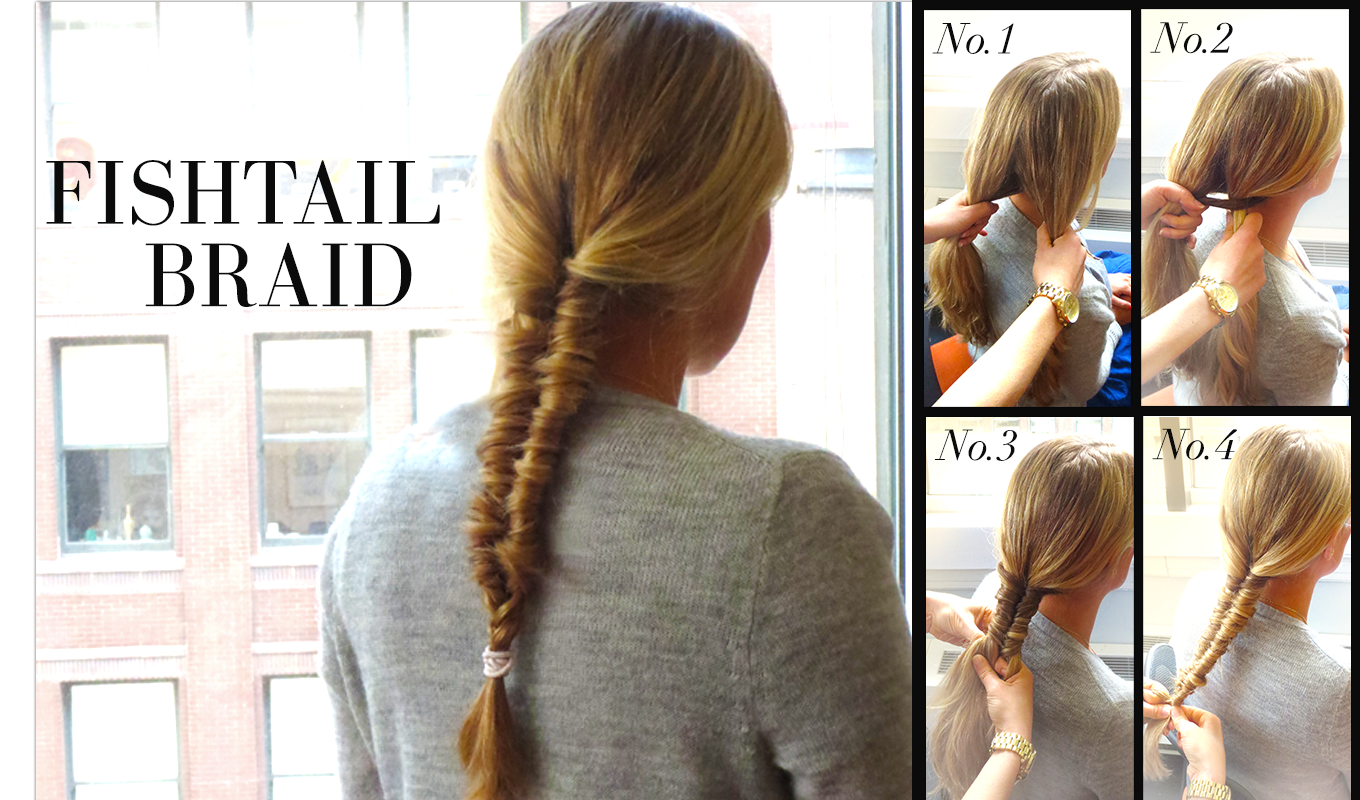 Fishtail Braid Easy Steps | www.pixshark.com - Images ...