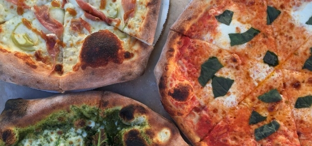 """The restaurant will serve the same 12-inch 12-inch """"Neapolitan-ish"""" pies the mobile oven does. (Photo: Timber Pizza/Facebook)"""