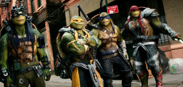 """Teenage Mutant Ninja Turtles: Out of the Shadows"" topped the box office last weekend with $35.31 million. (Photo: Paramount Pictures)"