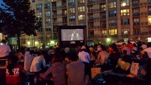 The U Street Movie Series returns to Harrison Field monthly July through September. (Photo: U Street Movie Series/Facebook)