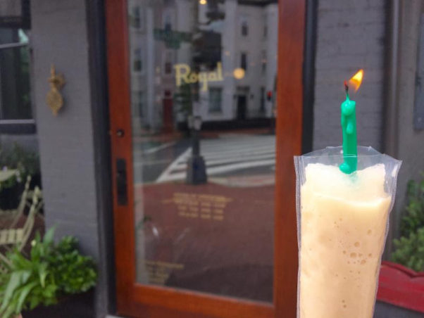 The Royal celebrates its first anniversary Monday with free cold brew ice pops made from Counter Culture Coffee. (Photo: The Royal)