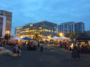 MarketSW comes to an empty lot across from the Waterfront Metro on Friday night. (Photo: MarketSW/Facebook)