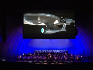 "The National Symphony Orchestra will accompany ""Start Trek Into Darkness"" at Wolf Trap on Saturday. (Photo: Film Concerts Live)"