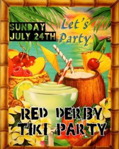 The Red Derby in Columbia Heights will have a tiki party Sunday benefiting DASH-DC. (Graphic: Red Derby)
