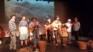 <em>Rain Follows the Plow</em> is a Dust Bowl folk opera playing at the Capital Fringe Festival this weekend. (Photo: Mark Heckathorn/DC on Heels)