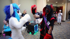 BronyCon fan convention for <em>My Little Pony: Friendship Is Magic</em> is in Baltimore this weekend. (Photo: Al Drago/Baltimore Sun)