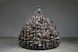 """Chinamania opens at the Sackler Gallery and includes Walter McConnell's """"A Theory of Everything: Dark Stupa."""" (Photo: Cross-McKenzie Gallery)"""