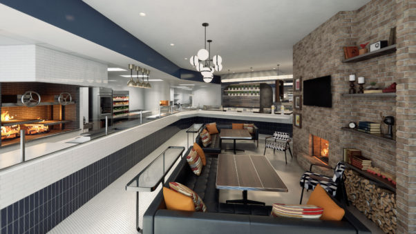 The fast, casual HalfSmoke will bring sausages to Shaw in mid-August. (Rendering: HalfSmoke)