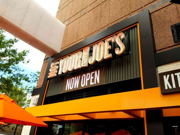 Not Your Average Joe's opened in Silver Spring's Ellsworth Place last Tuesday. (Photo Not Your Average Joe's)