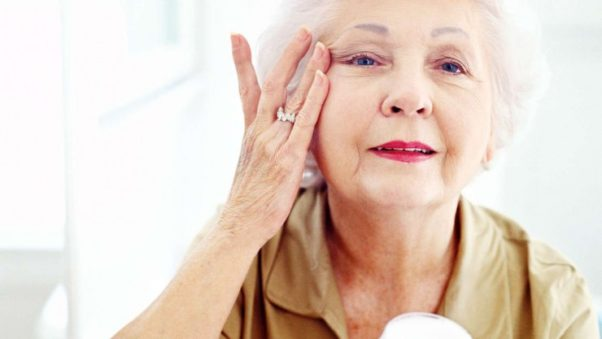 Seniors need to take extra care of their skin to keep it moist in the winter. (Photo: Sixty and Me)