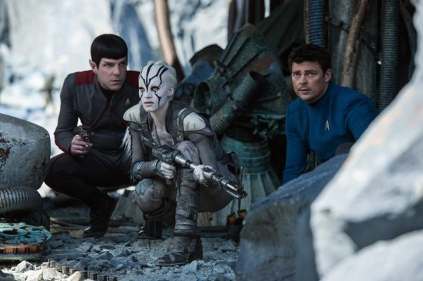 """Paramount Pictures' """"Star Trek Beyond"""" took first place last weekend with $59.25 million. (Photo: Paramount Pictures)"""