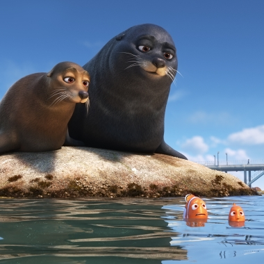 Finding Dory finished on top the three straight weekend with $51.44 million. (Photo: Disney Studios)