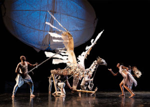 <em>The Firebird</em> at Wolf Trap on Saturday pairs the National Symphony Orchestra with giant puppets from Handspring Puppet Co. (Photo: Wolf Trap)