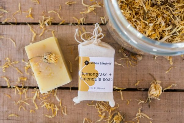 Herban Lifestyle's soaps are made from all organic ingredients. (Photo: Herban Lifestyle)