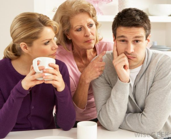If you don;t get along with your in-laws don't panic, you're not alone. (Photo: wisegeek.com)