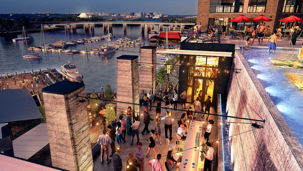 La Vie from the Social Restaurant Group will open at The Wharf in late-fall 2017. (Image: Hoffman Madison Waterfront)