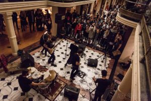The Luce Foundation celebrates its 10th anniversary with bands and birthday cake on Friday. (Photo:  Alex Schelldorf)